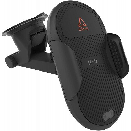 Adonit Auto-clamping Wireless Car Charger Without USB Car Power Adapter
