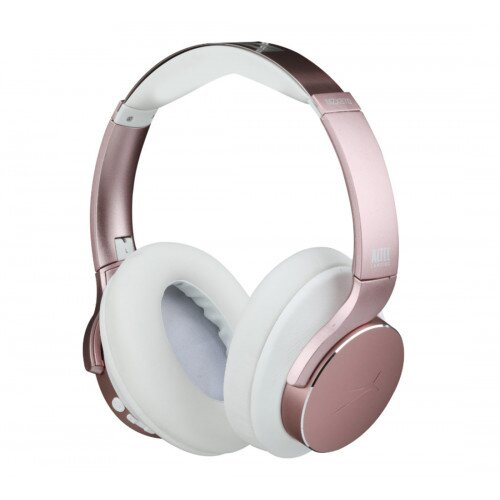 Altec Lansing ComfortQ+ Active Noise Cancelling Over-Ear Headphones - Rose Gold