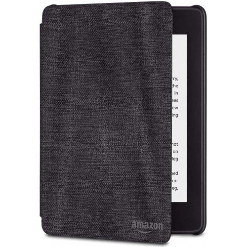 Amazon All-new Kindle Paperwhite Water-Safe Fabric Cover (10th Generation-2018) - Charcoal Black