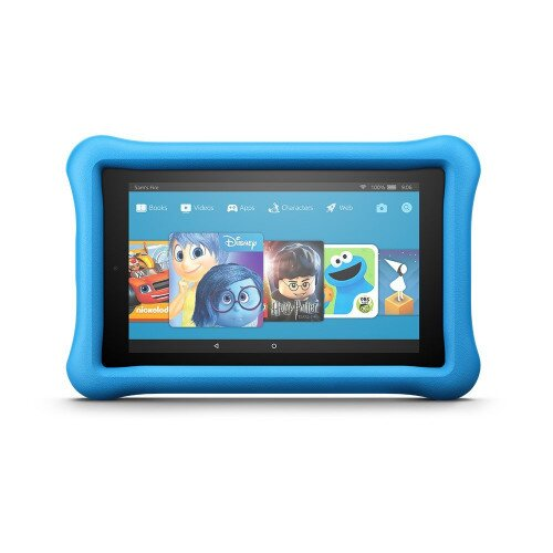 """Amazon Fire 7 Kids Edition Tablet, 7"""" Display, 16 GB, Kid-Proof Case"""