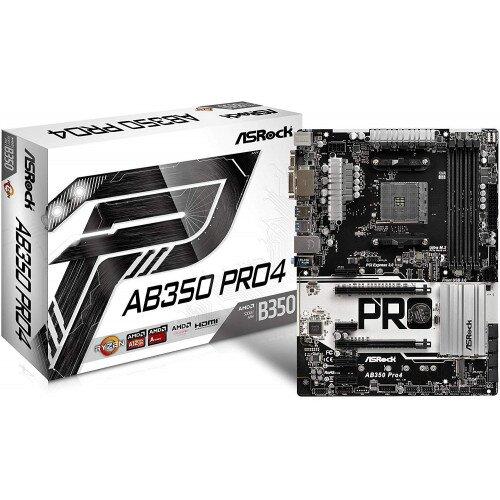 ASRock AB350 Pro4 Motherboard