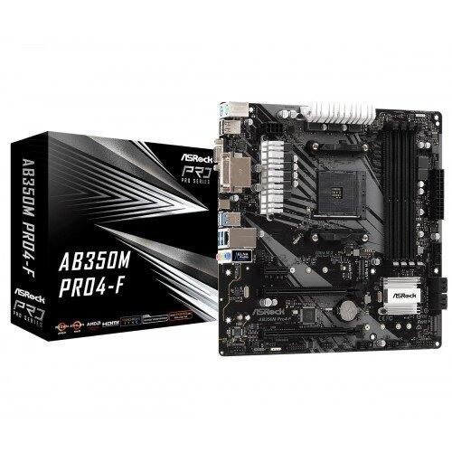 ASRock AB350M Pro4-F Motherboard