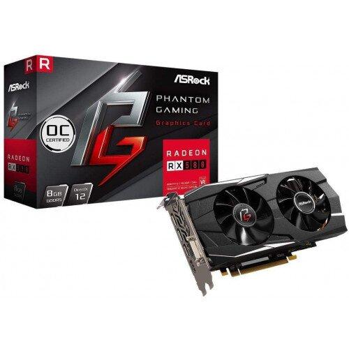 ASRock Phantom Gaming D Radeon RX580 8G OC Graphics Card