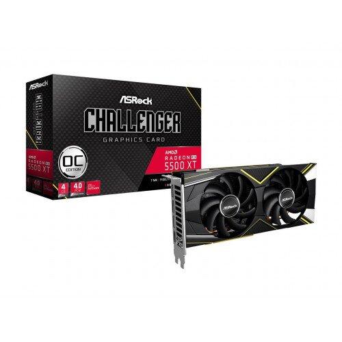 ASRock Radeon RX 5500 XT Challenger D 4G OC Graphics Card