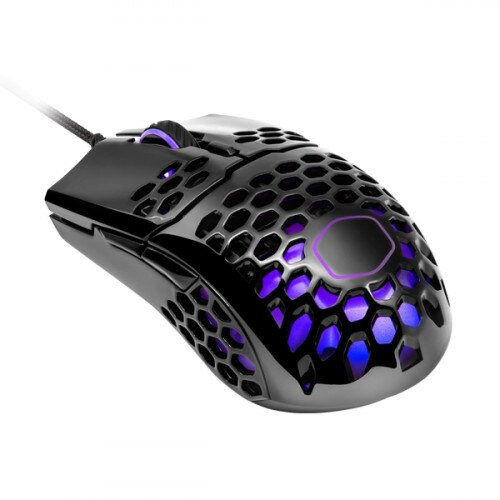 Cooler Master MM711 Gaming Mouse - Glossy Black