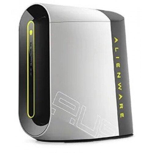 Dell Alienware Aurora R10 Ryzen Edition Gaming Desktop - AMD Ryzen 5 3500 - 128GB SSD + 1TB HDD - 8GB DDR4 - NVIDIA GeForce GTX 1660 SUPER 6GB GDDR6 - Lunar Light