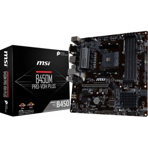 MSI B450M PRO-VDH Plus Motherboard