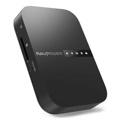 RAVPower FileHub 2019 Version AC750 Wireless Travel Router