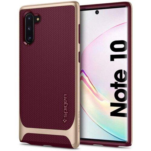 Spigen Galaxy Note 10 Case Neo Hybrid - Burgundy