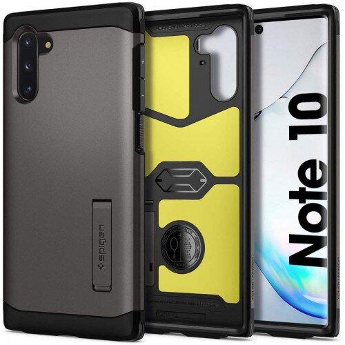 Spigen Galaxy Note 10 Case Tough Armor - Gunmetal