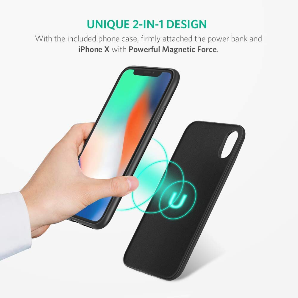 Ugreen 3600mAh Battery Case Charger for iPhone Xs X