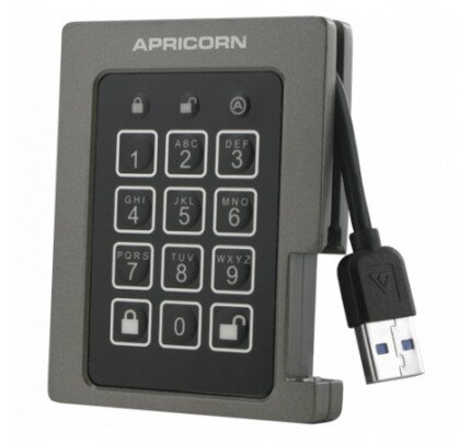 Apricorn Aegis Padlock SSD - USB 3.0 Solid State Drive