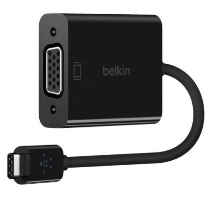 Belkin USB-C to VGA Adapter (Also Known as USB Type-C)