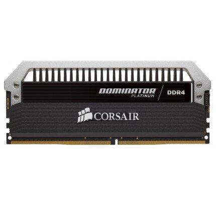 Corsair Dominator Platinum Series 64GB (4 x 16GB) DDR4 DRAM 2666MHz C15 Memory Kit