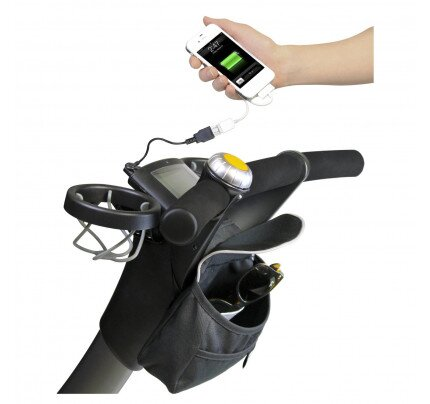 4moms handle bar bag & cell phone charger