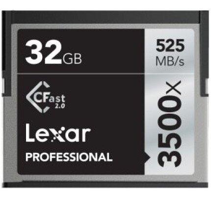 Lexar Professional 3500x CFast 2.0 Card