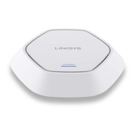 Linksys Business Access Point Wireless Wi-Fi Dual Band 2.4 + 5GHz N600 with PoE