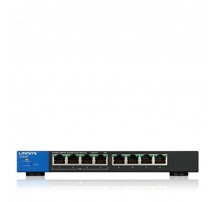 Linksys 8-Port Business Smart Gigabit PoE+ Switch
