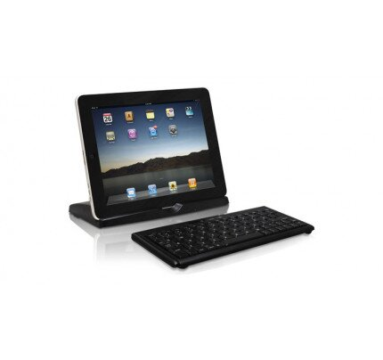 Macally Portable Bluetooth Keyboard and Stand for iPad 2nd-4th Generation