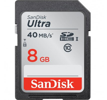 SanDisk Ultra SDHC / SDXC UHS-I Memory Card