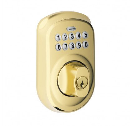 Schlage Plymouth Trim Keypad Deadbolt