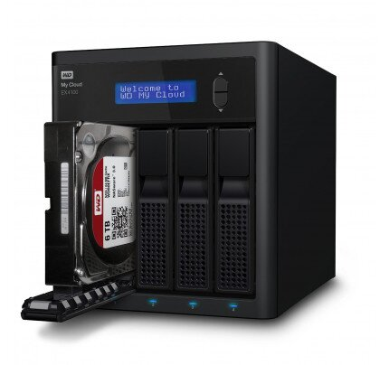 WD My Cloud Expert Series EX4100 Network Attached Storage