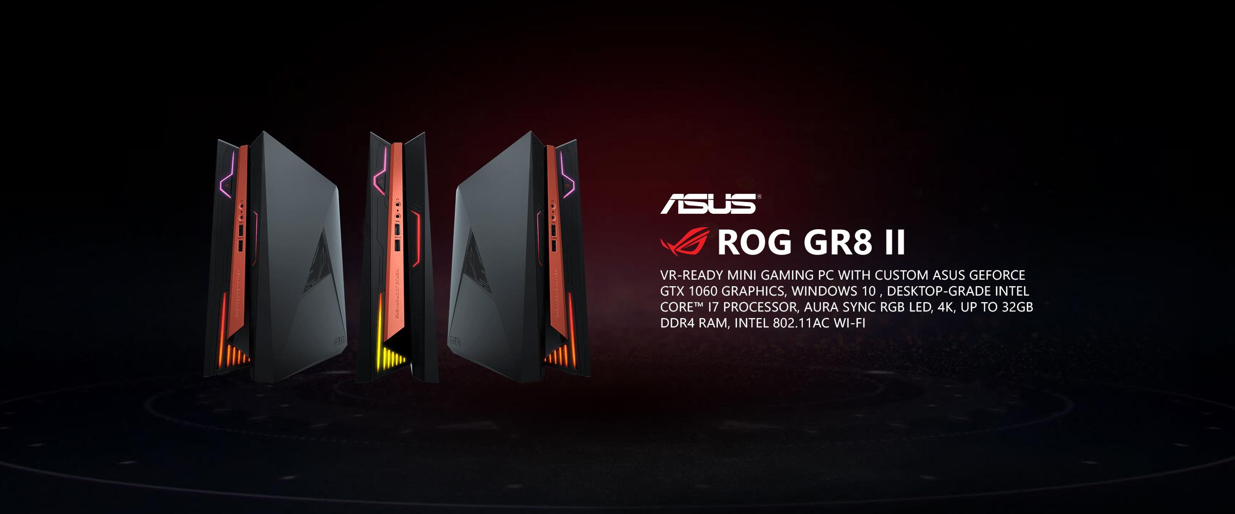 ASUS ROG GR8 II VR-Ready Mini Gaming PC