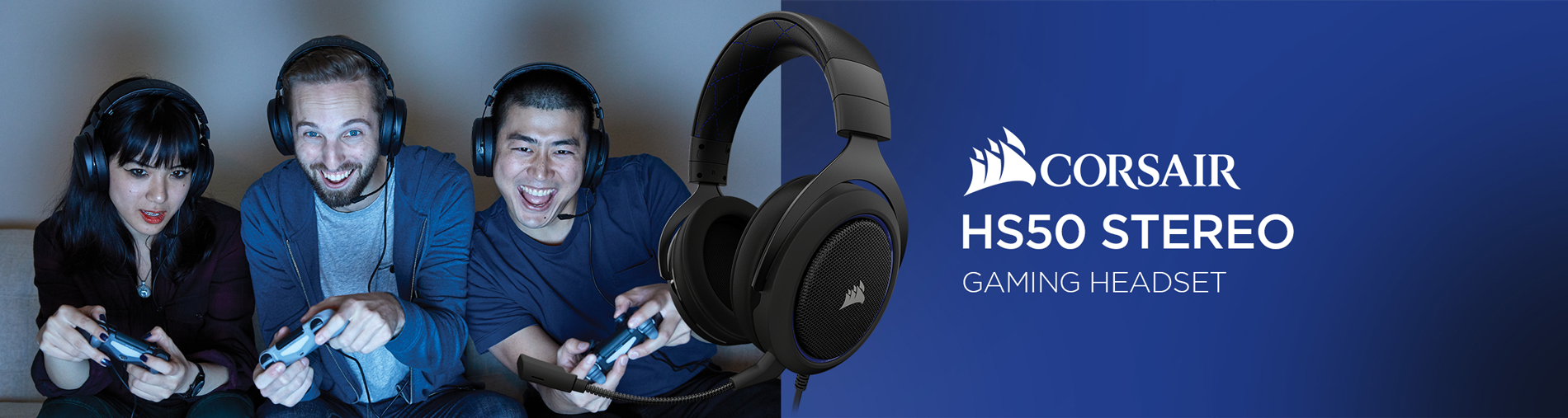 Corsair HS50 Stereo Gaming Headset