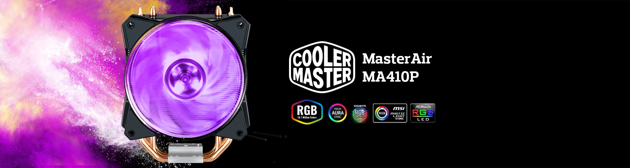 Cooler Master MasterAir MA410P CPU Air Cooler