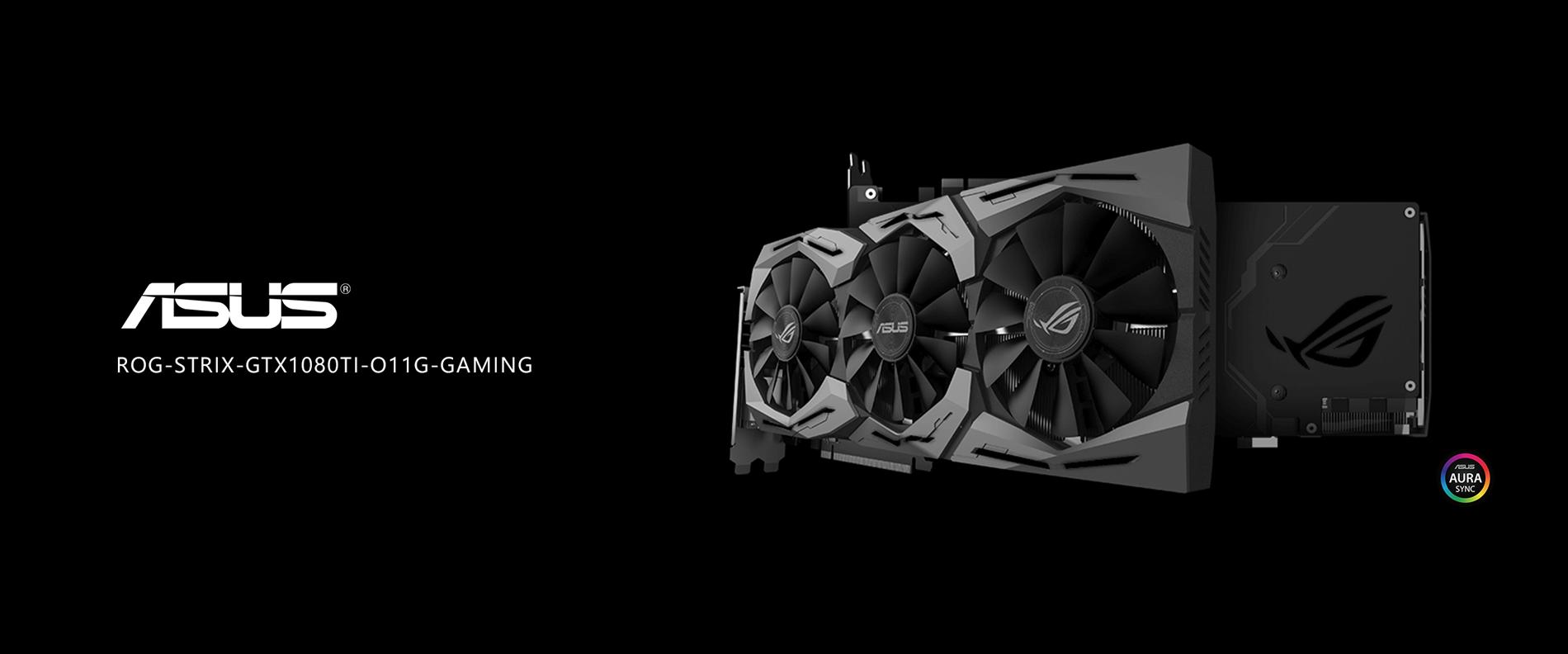 ASUS ROG STRIX GeForce GTX 1080 TI Gaming Graphics Card