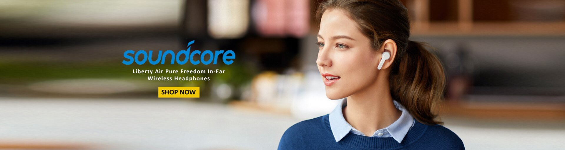 Soundcore Liberty Air Pure Freedom In-Ear Wireless Headphones