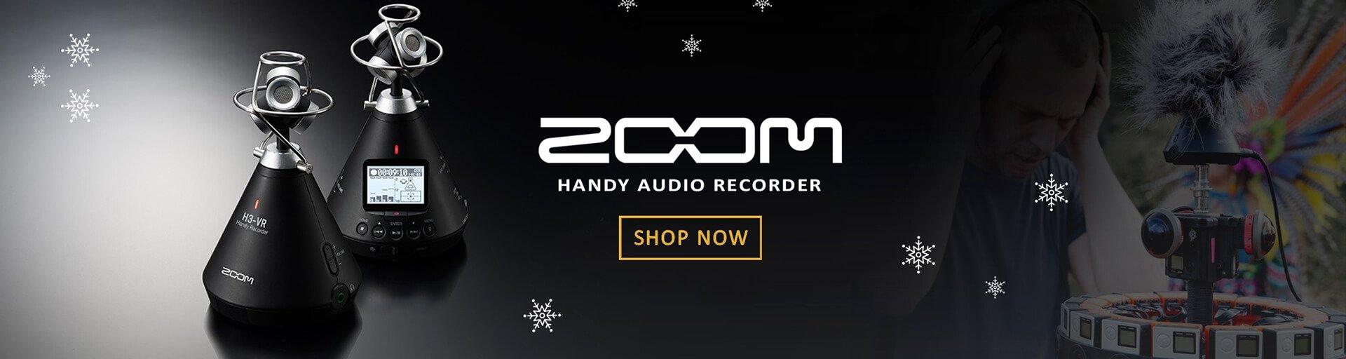Zoom H3-VR Handy Audio Recorder
